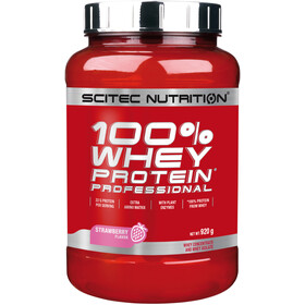 SCITEC 100% Whey Protein Professionell Polvere 920g, Strawberry